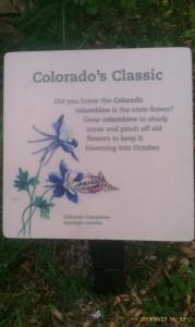 columbineflowersign